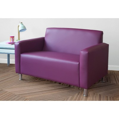 Lister Sofas & Armchair - Faux Leather