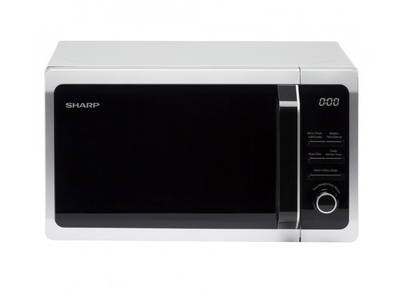 Microwave with Grill - 20 Litres - Silver