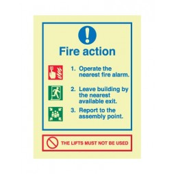 Fire Safety Signs - Mandatory