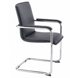 Executive Cantilever Chair with Arms