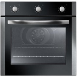 Built-in Fan Oven - 4 Cooking Functions - Stainless Steel