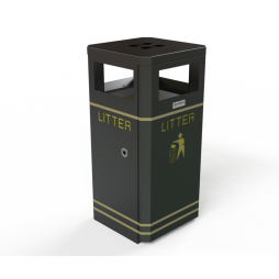 Outdoor Litter Bin