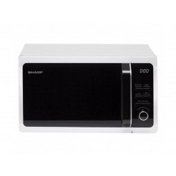 Microwave with Grill - 20 Litres - White