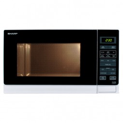 Microwave with Touch Control - 25 Litres - White