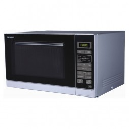 Microwave with Touch Control - 25 Litres - Silver