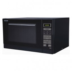 Microwave with Touch Control - 25 Litres - Black