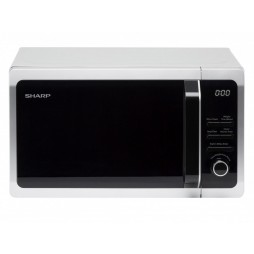 Microwave with Touch Control - 20 Litres - Silver
