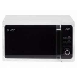 Microwave with Touch Control - 20 Litres - White