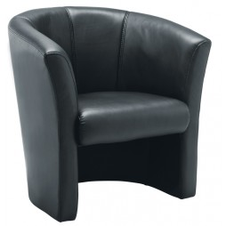 Tub Armchair - Leather Look