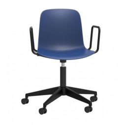 Stylish Operator Chair with Arms - Choice of 10 Colours
