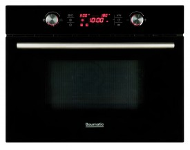 Integrated Combination Microwave Oven - Black